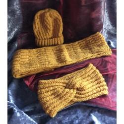 Mütze, Schal & Stirnband